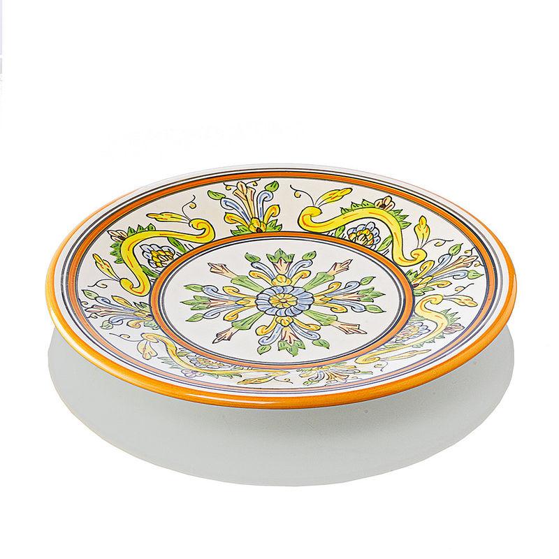 dessertteller jedes st ck ein unikat handgefertigtes geschirr im toskanischen stil hagen. Black Bedroom Furniture Sets. Home Design Ideas