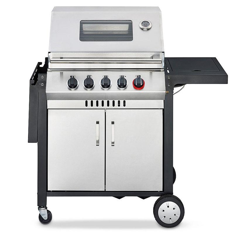 Hightech Infrarot  Und Gas Grillküche Mit 400 °C Beefsteaker Turbozone Und  Einfacher