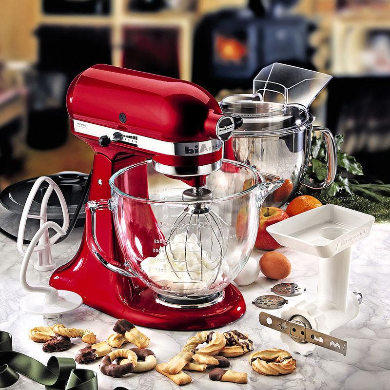 Kitchenaid Küchenmaschine Zubehör ~ aktion kitchenaid küchenmaschine in der sonderfarbe liebesapfel rot mit gratis zubehör hagen
