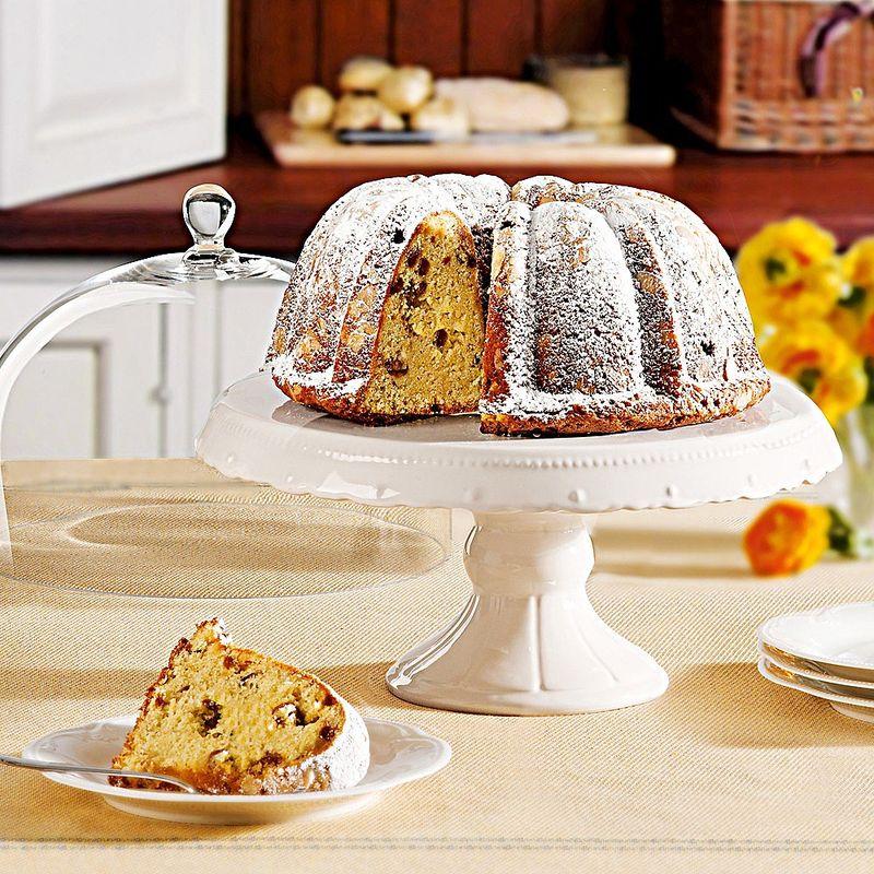 Glashaube torten und kuchen dekorativ pr sentieren for Kuchen u form bilder
