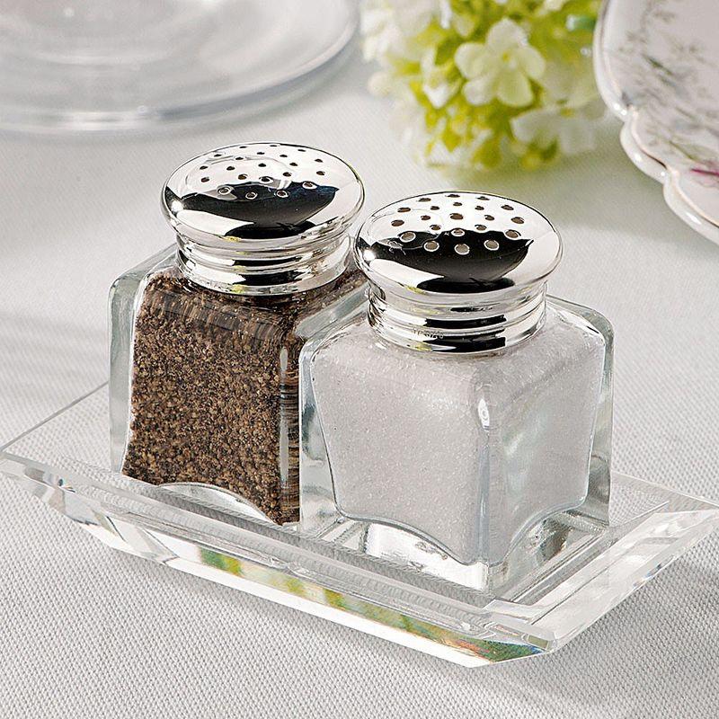 Elegant: Sterlingsilber-Salz- und Pfefferstreuer für jeden Gast ...