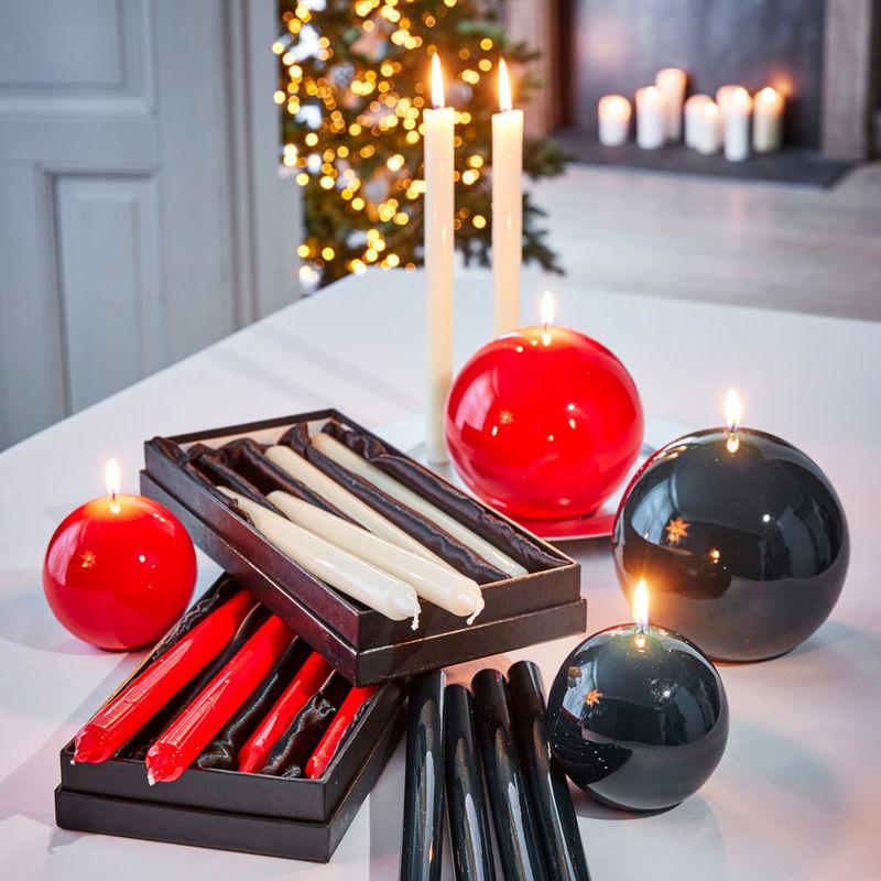 stabkerzen edel gl nzende lack kerzen als stilvolle deko und geschenkidee julia grote shop. Black Bedroom Furniture Sets. Home Design Ideas