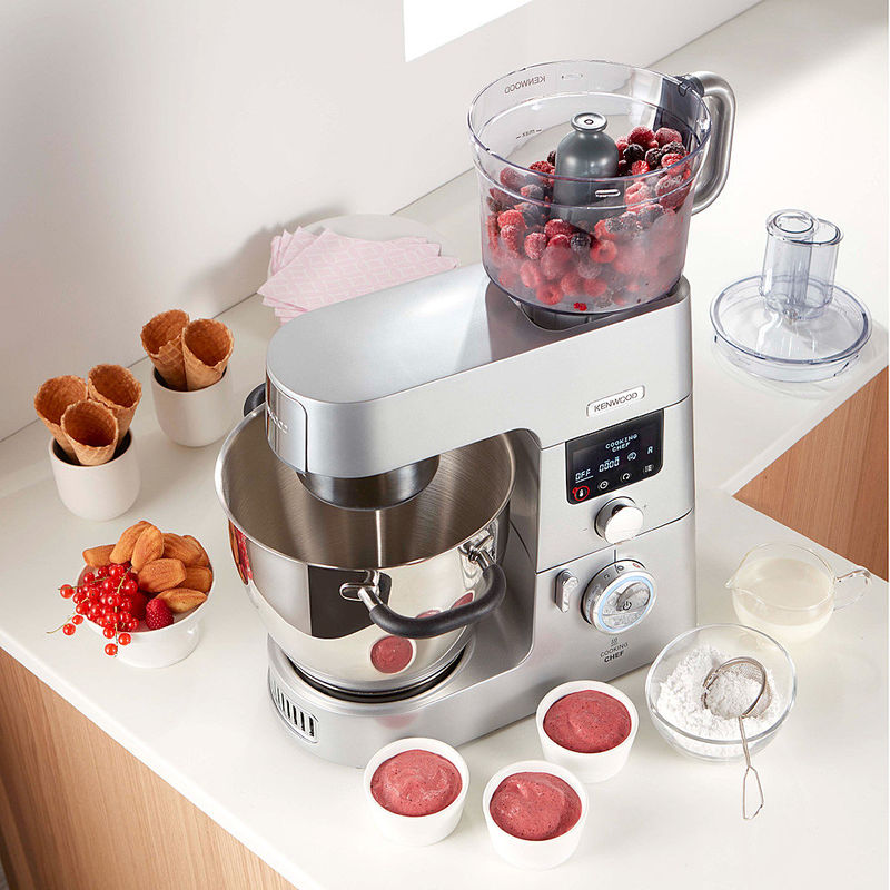 Pramierte Innovation Induktions Kuchenmaschine Kenwood Cooking Chef