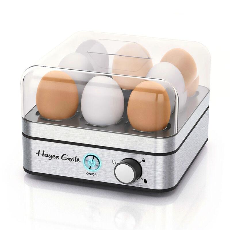 Unser bester eierkocher eier kochen und pochieren hagen - Eier hart kochen ohne anstechen ...
