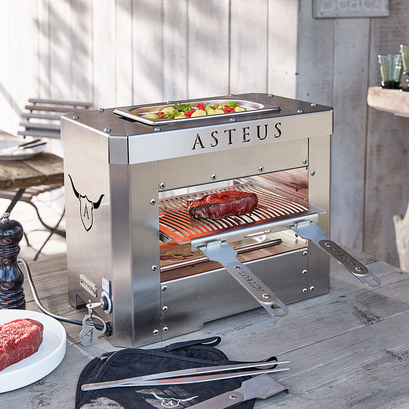hightech elektro beefsteaker die besten steaks gelingen bei 800 c hagen grote shop. Black Bedroom Furniture Sets. Home Design Ideas