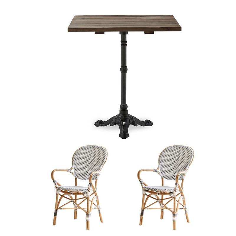 set 2 outdoor rattanm bel franz sischer charme f r garten und terrasse julia grote shop. Black Bedroom Furniture Sets. Home Design Ideas