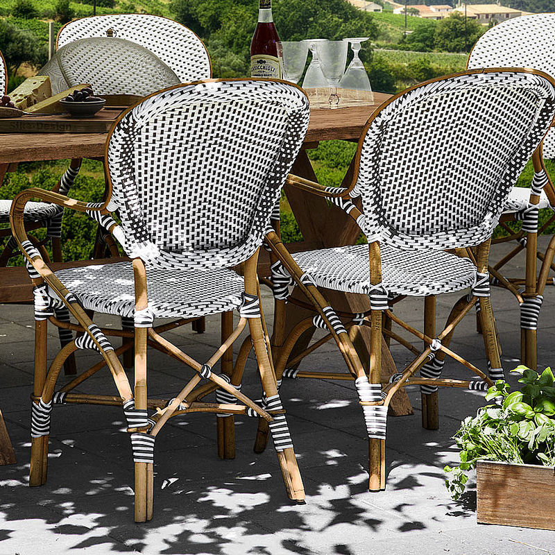 set 2 outdoor rattanm bel franz sischer charme f r garten und terrasse julia grote shop. Black Bedroom Furniture Sets. Home Design Ideas