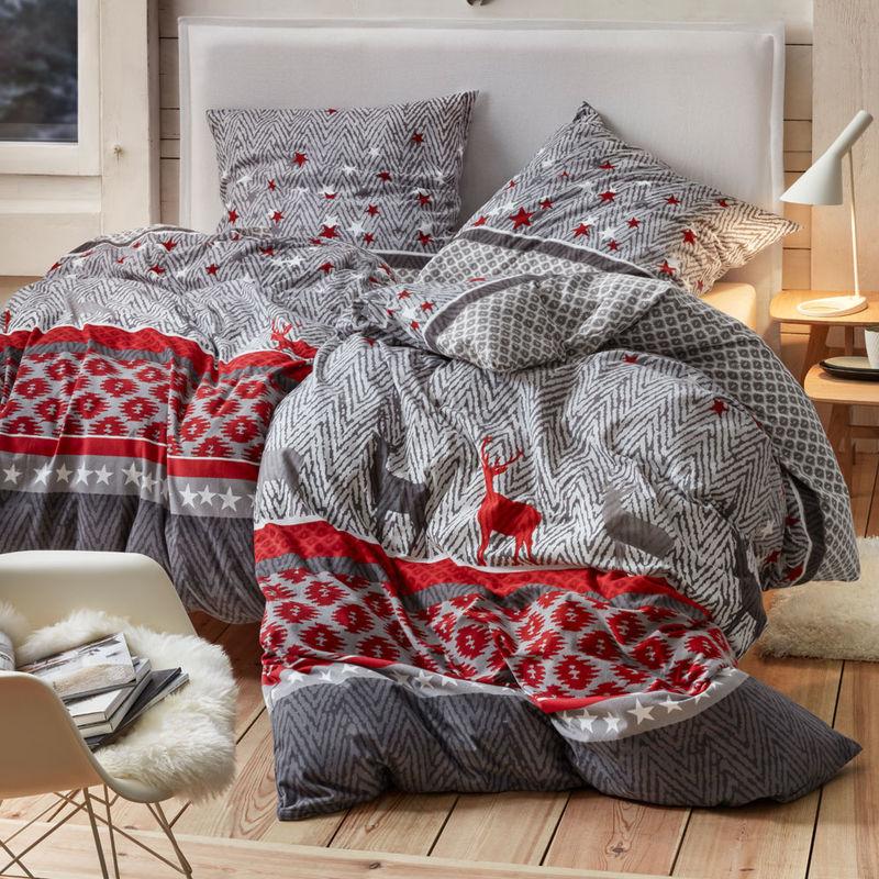 Moderne Landhaus Bettwäsche Aus Edelbiber Wärmt In Kalten
