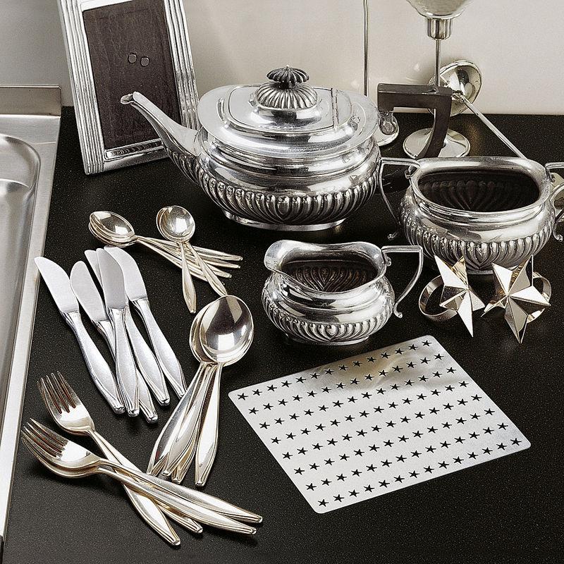 silberputzplatte silverstar putzen sie nie wieder silber hagen grote shop. Black Bedroom Furniture Sets. Home Design Ideas