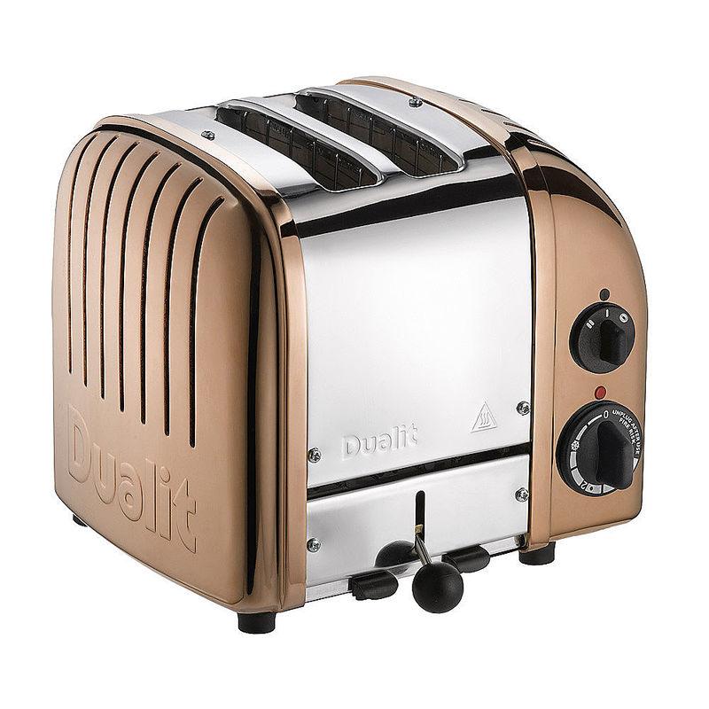 bew hrte spitzenqualit t dualit 2 schlitz toaster kupfer. Black Bedroom Furniture Sets. Home Design Ideas