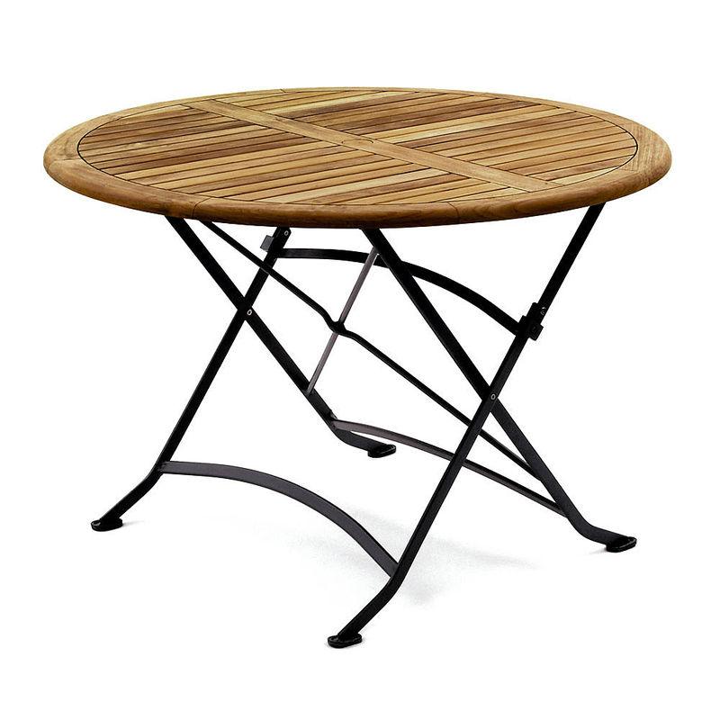 tisch rund wetterfest langlebig und leicht gartenklassiker aus teak julia grote shop. Black Bedroom Furniture Sets. Home Design Ideas