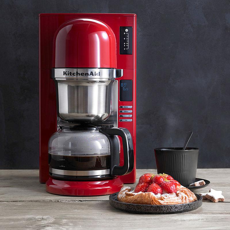 kitchenaid filter kaffeemaschine mit gratis zubeh r schwallbr hverfahren wie von hand. Black Bedroom Furniture Sets. Home Design Ideas