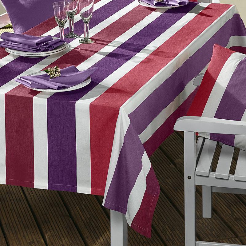 Streifen tischdecke f r den garten julia grote shop - Tischdecke garten ...
