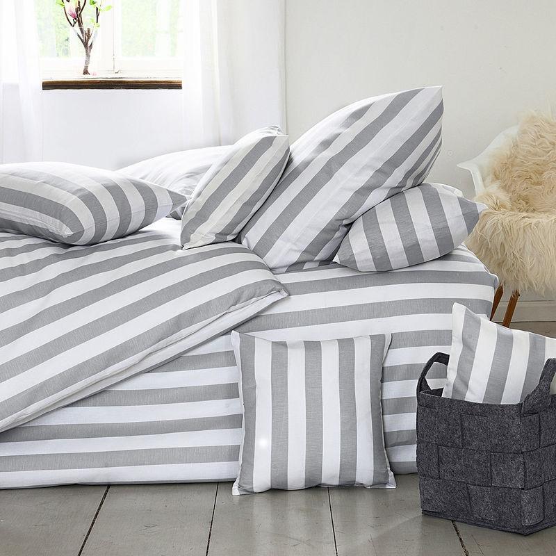 Bettbezug Hochwertige Halbleinen Bettwäsche Mit Markanten