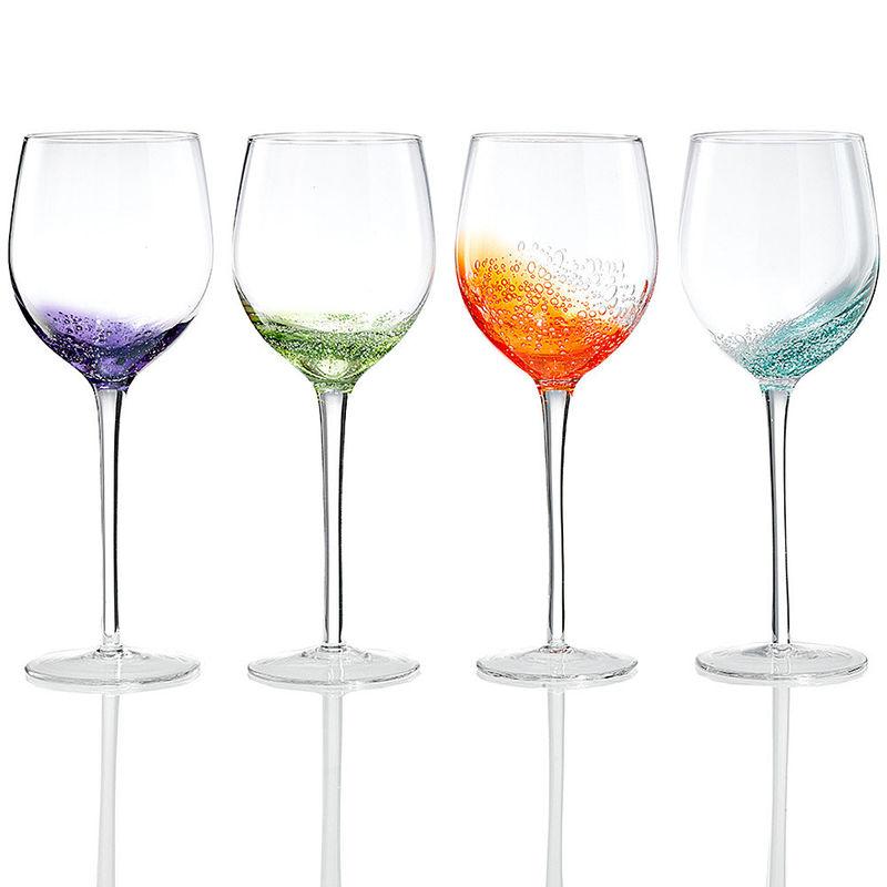 Weingläser weingläser frisch fröhlich sommerlich mundgeblasene gläser mit