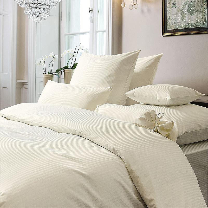 bettbezug naturreine brokat damast bettw sche feinstreifen dekor julia grote shop. Black Bedroom Furniture Sets. Home Design Ideas
