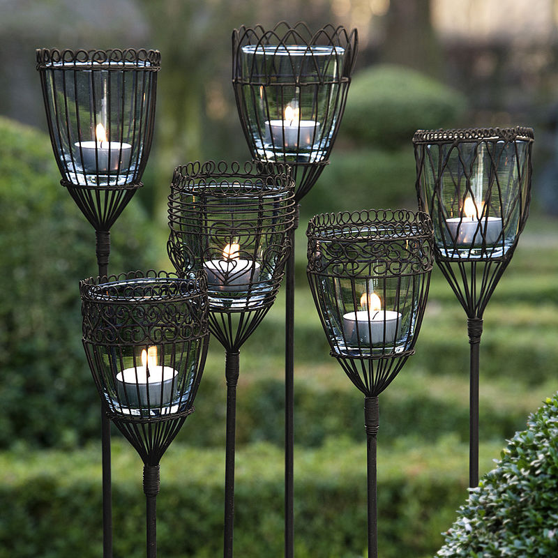 Favorit Filigrane Windlichter bringen romantisches Flair in den Garten BU36