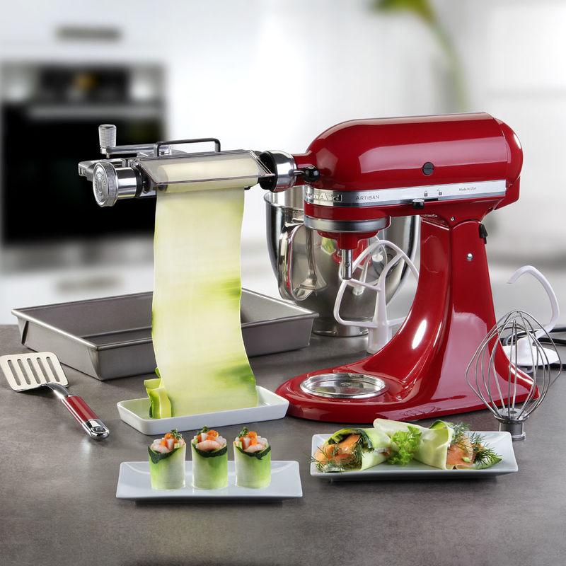 kitchenaid küchenmaschine mit zubehör