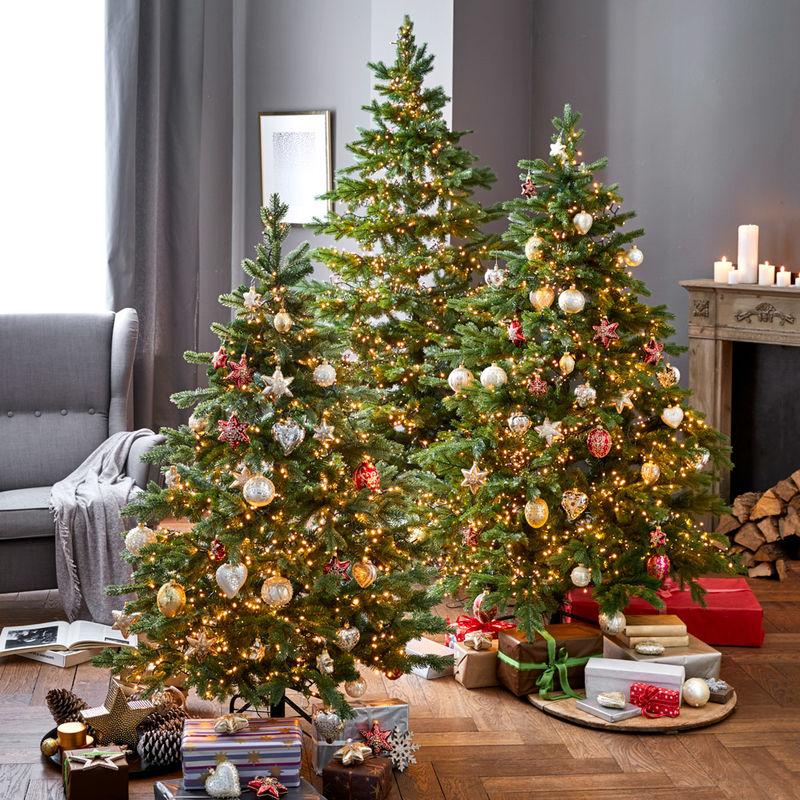 berzeugend echt kunstvoll gefertigte weihnachtsb ume julia grote shop. Black Bedroom Furniture Sets. Home Design Ideas