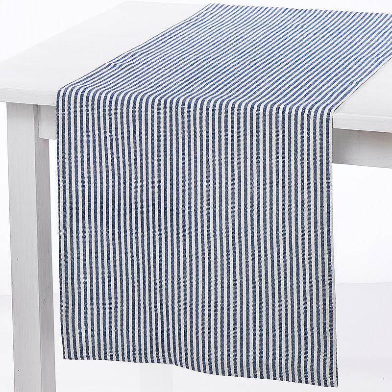 Tischlaufer Schmale Streifen Aus Reinem Leinen Machen Sommerlaune