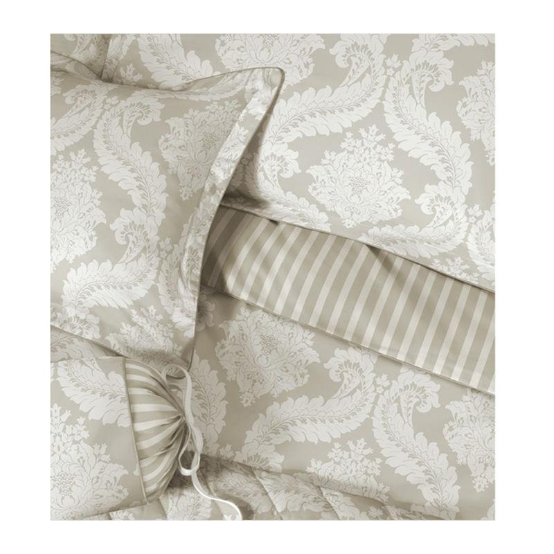 Britischer Landhaus Stil Satin Bettwäsche Mit Romantischen Dekoren