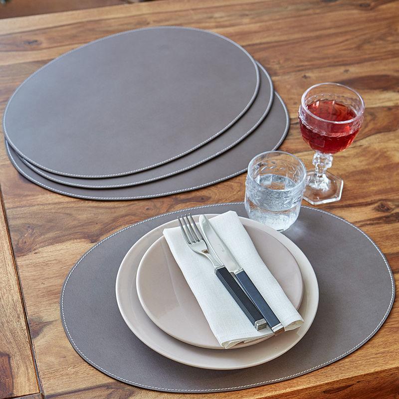 edle leder tischsets bereichern und sch tzen tisch und tafel hagen grote shop. Black Bedroom Furniture Sets. Home Design Ideas