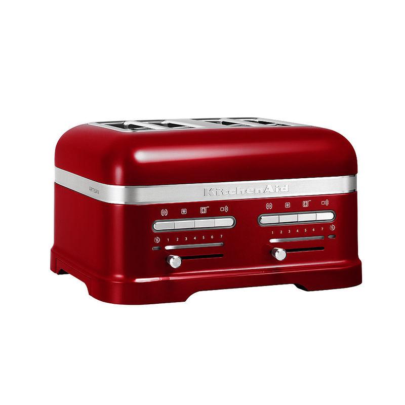 aktion kitchenaid 4 scheiben toaster artisan mit gratis. Black Bedroom Furniture Sets. Home Design Ideas