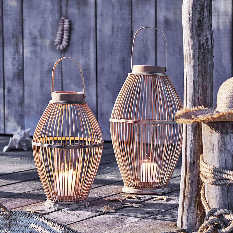 Dekorative Bambuslaternen Kreieren Besondere Lichtspiele Julia