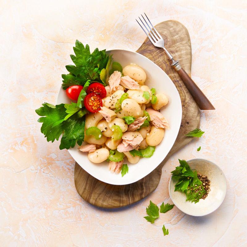 Bohnensalat Mit Weißem Thunfisch Und Stangensellerie Rezept Hagen