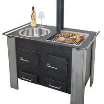 terrassen ofen zum kochen grillen w rmen hagen grote shop. Black Bedroom Furniture Sets. Home Design Ideas