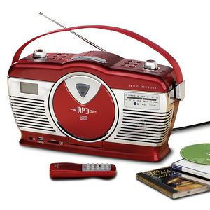 Nostalgisches Radio mit CD- und MP3-Player