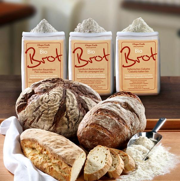 Brot-Backmischungen