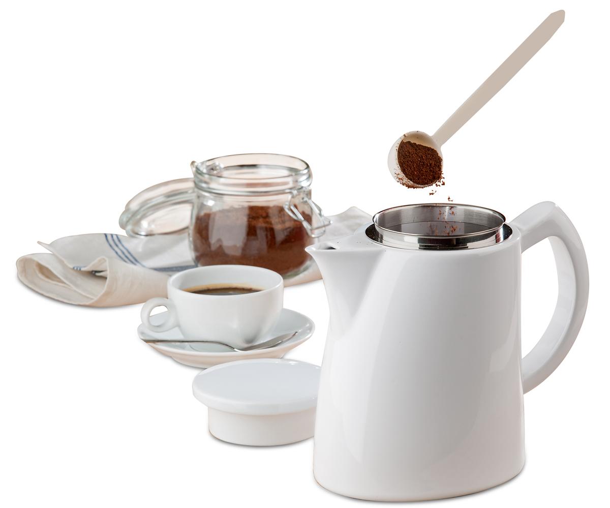 Aus unserem Shop: Innovative Superfilter-Kanne für vollendeten Kaffeegenuss