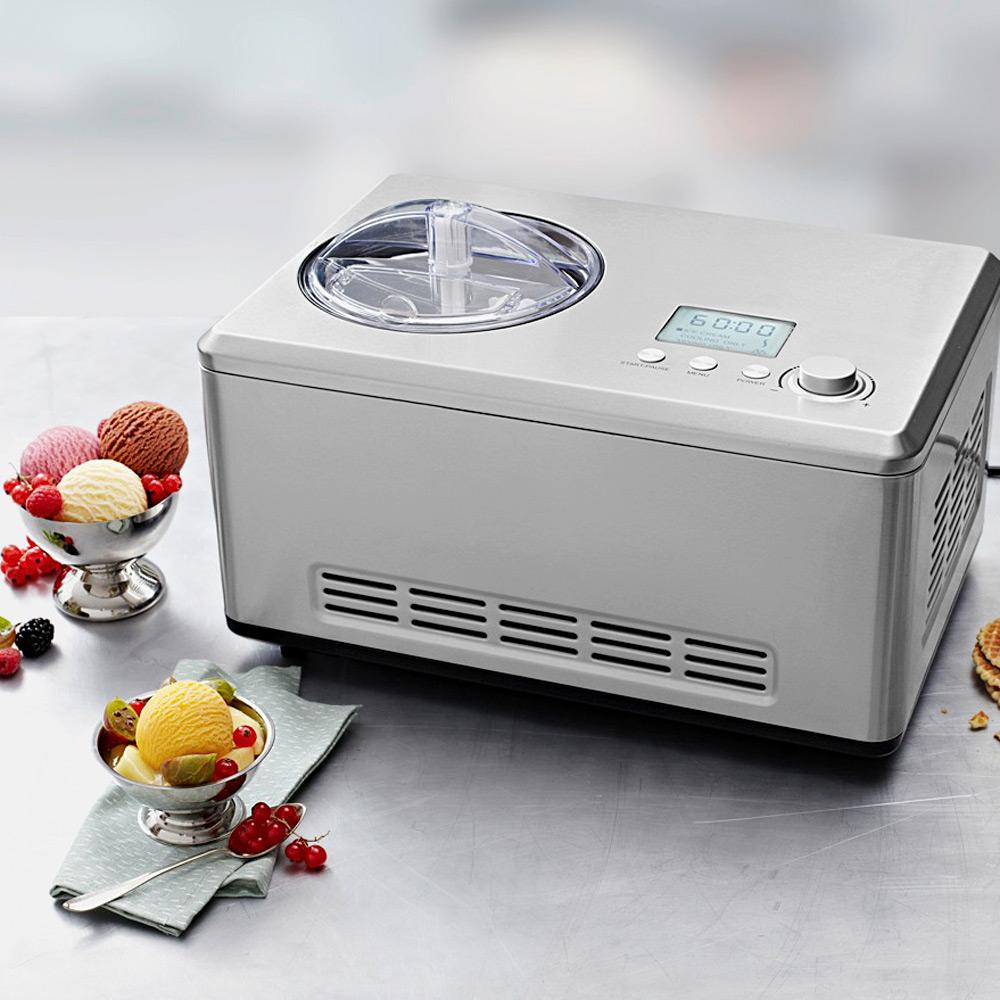 Professionelle Eismaschine für Sahneeis, Sorbet, Frozen Joghurt