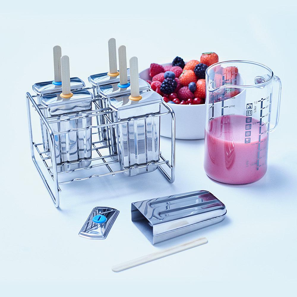 Fruchteis-Set