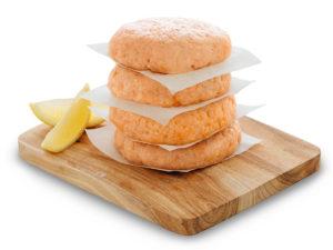 Aus frischem Fang: Delikate Lachsburger