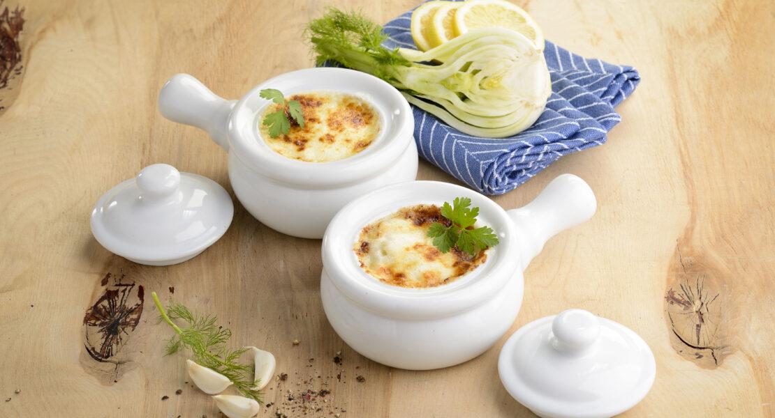Rezept gratinierte französische Fenchelsuppe